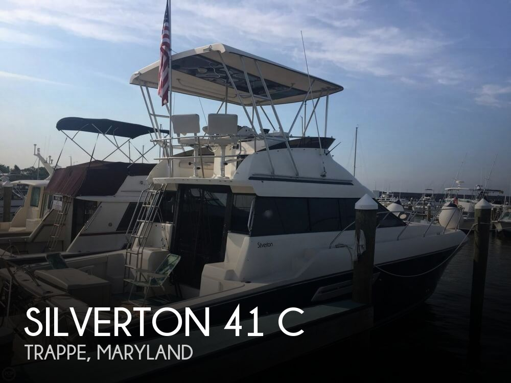 1991 Silverton boat for sale, model of the boat is 41 C & Image # 1 of 40
