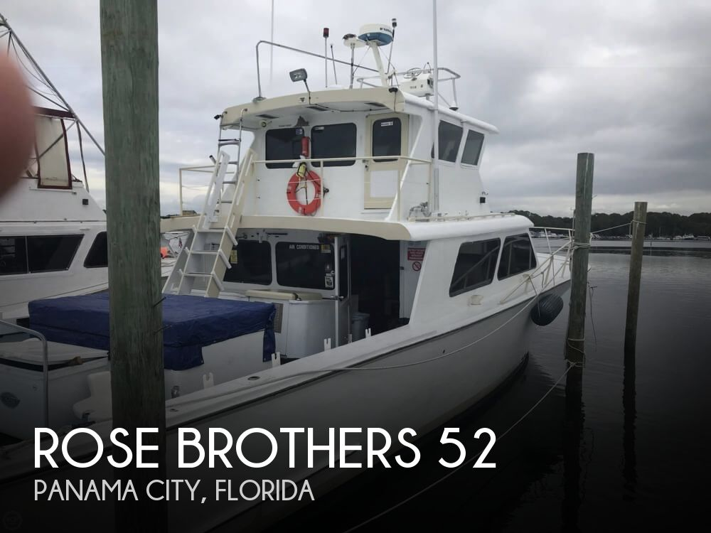 1980 Rose Brothers boat for sale, model of the boat is 52 & Image # 1 of 40