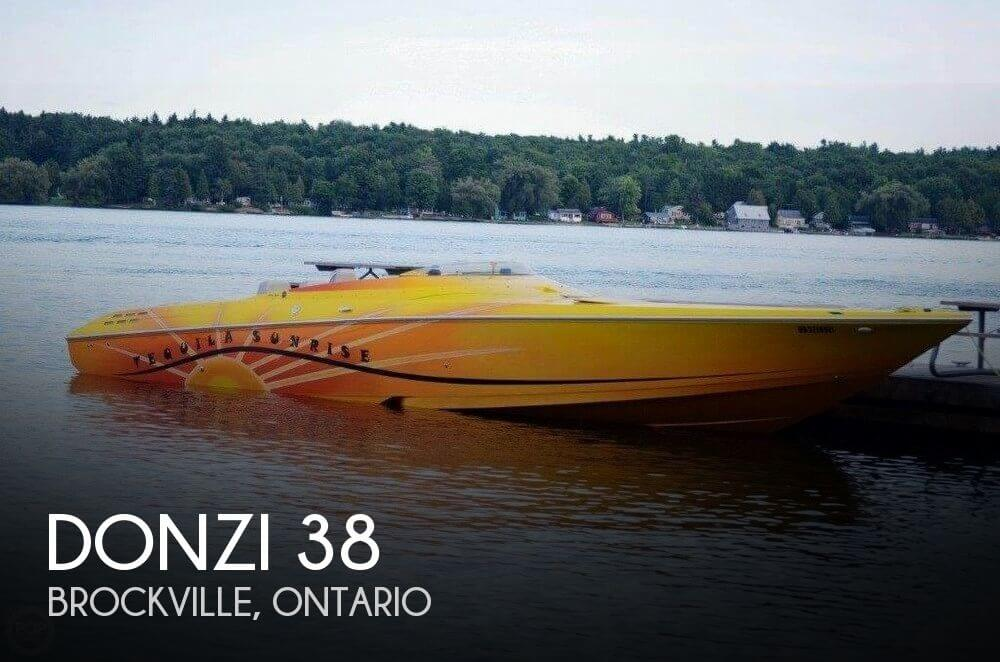 Used Boats For Sale in Canada by owner | 2006 Donzi 38
