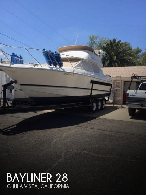 Used Bayliner Boats For Sale in California by owner | 1998 Bayliner 28