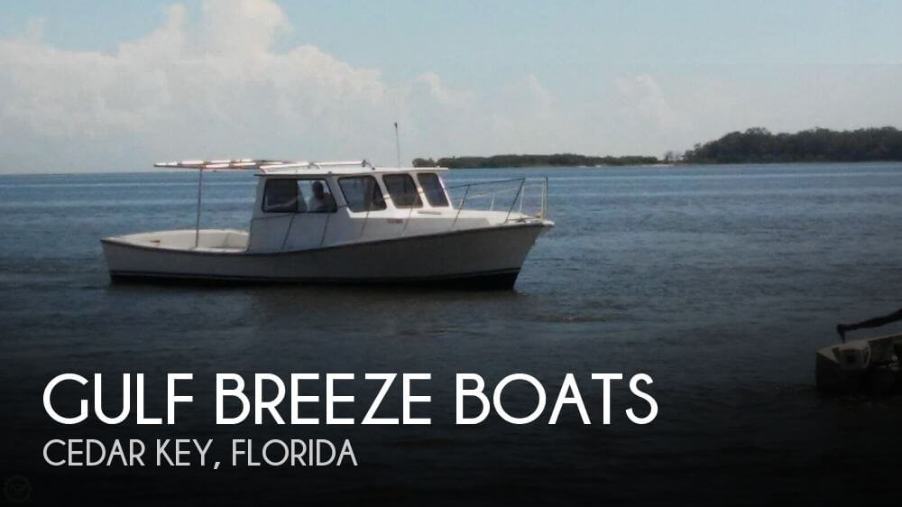 Used Fishing boats For Sale in Ocala, Florida by owner | 1985 Gulf Breeze Boats 32