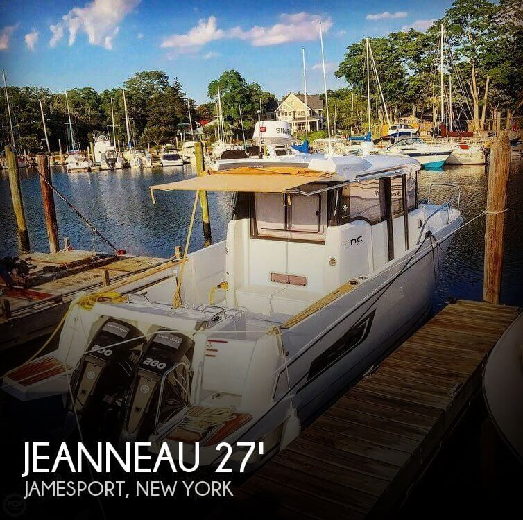 Used Boats For Sale in Norwich, Connecticut by owner | 2017 Jeanneau 27