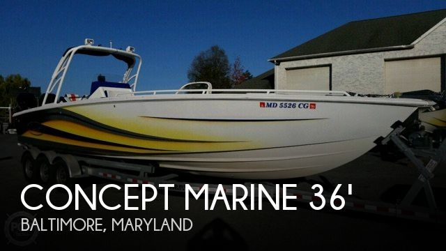 Used Boats For Sale in Harrisburg, Pennsylvania by owner | 2004 Concept Marine 36