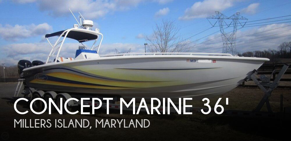 SOLD: Concept Marine 36 Center Console boat in Millers Island,, MD