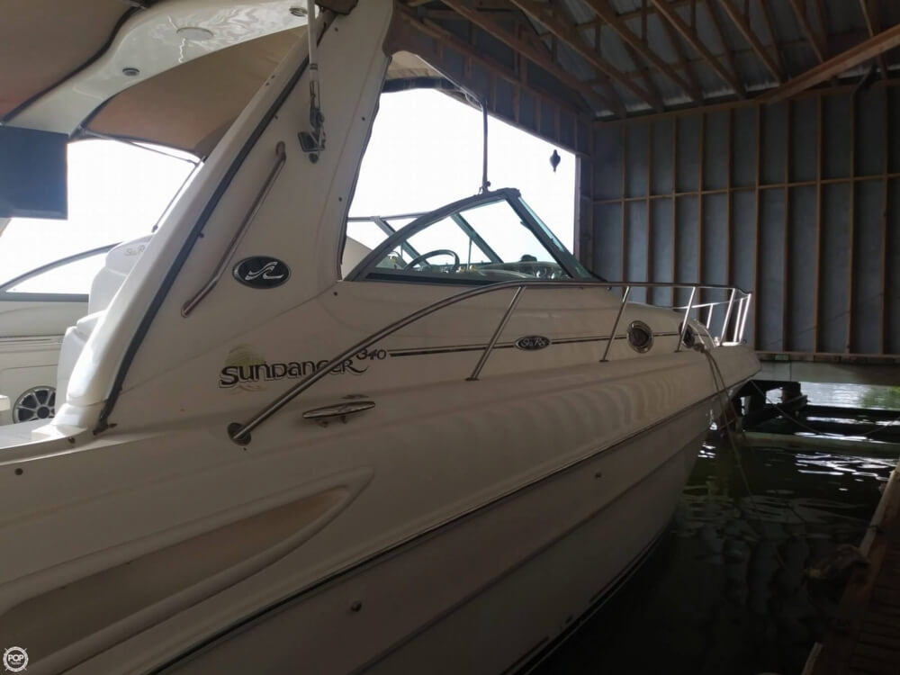 2002 Sea Ray boat for sale, model of the boat is 340 Sundancer & Image # 9 of 40