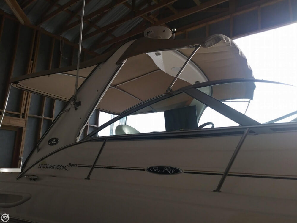 2002 Sea Ray boat for sale, model of the boat is 340 Sundancer & Image # 7 of 40
