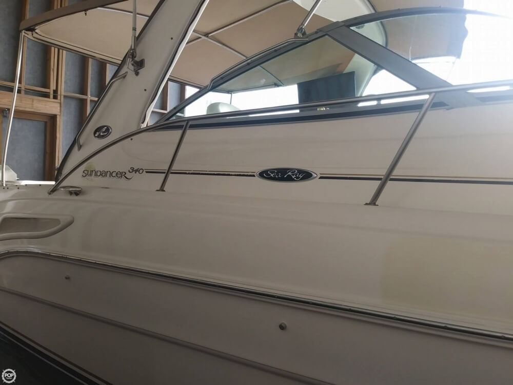 2002 Sea Ray boat for sale, model of the boat is 340 Sundancer & Image # 8 of 40