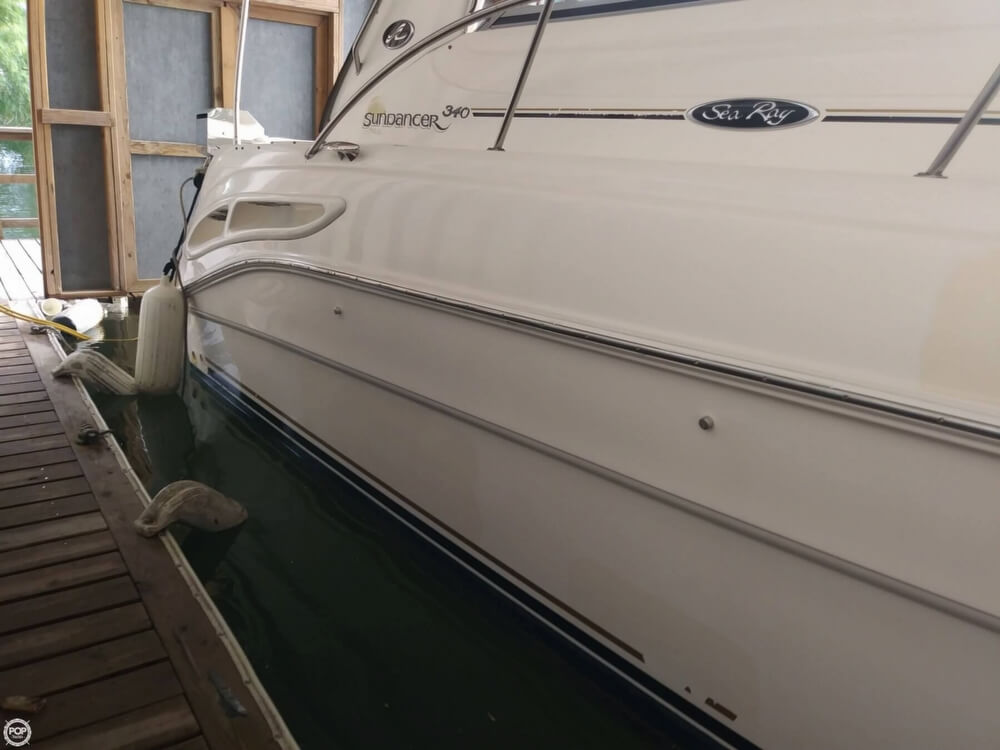 2002 Sea Ray boat for sale, model of the boat is 340 Sundancer & Image # 10 of 40