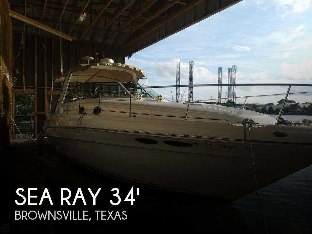 2002 Sea Ray boat for sale, model of the boat is 340 Sundancer & Image # 1 of 40