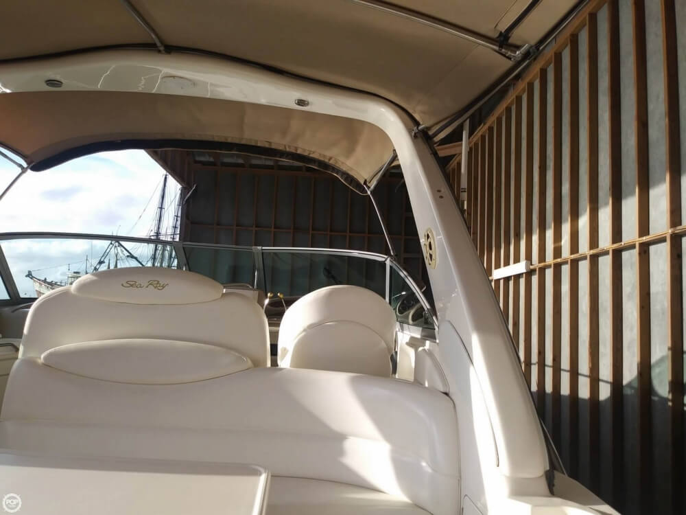 2002 Sea Ray boat for sale, model of the boat is 340 Sundancer & Image # 38 of 40