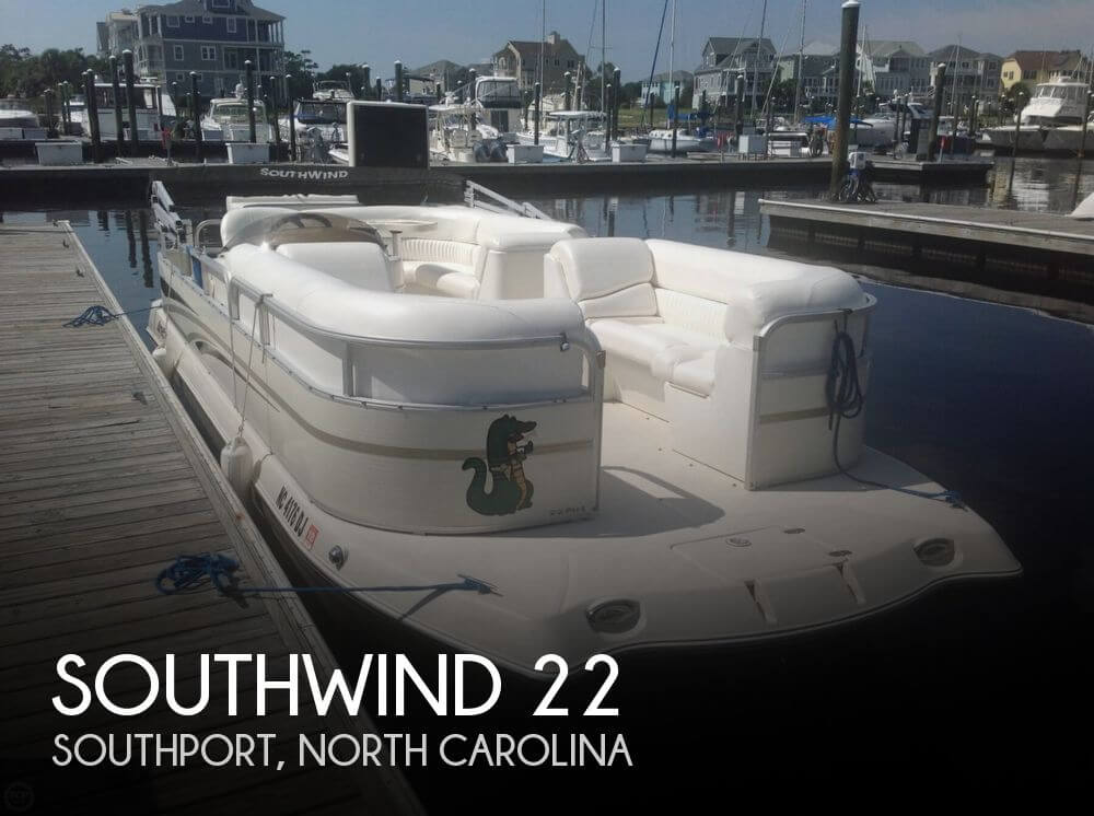 Used Deck Boats For Sale in North Carolina by owner | 2008 Southwind 22