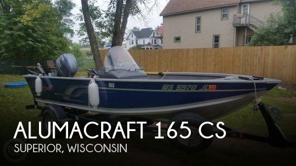 Used Boats For Sale in Duluth, Minnesota by owner | 2015 Alumacraft 16