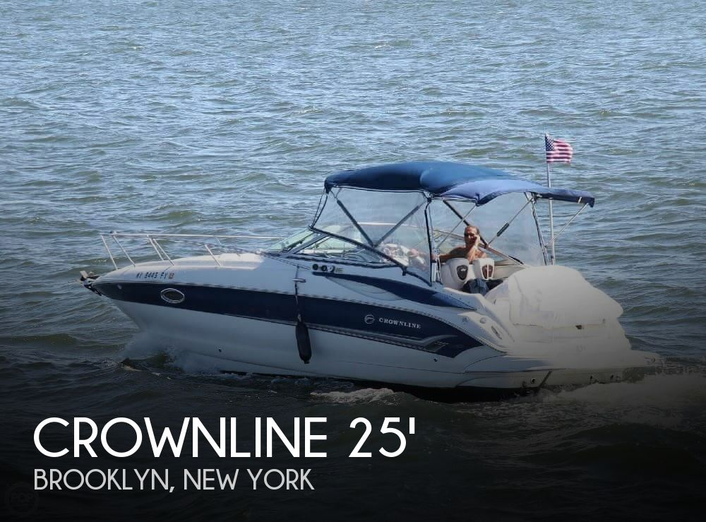 2005 CROWNLINE 250 CRUISER for sale