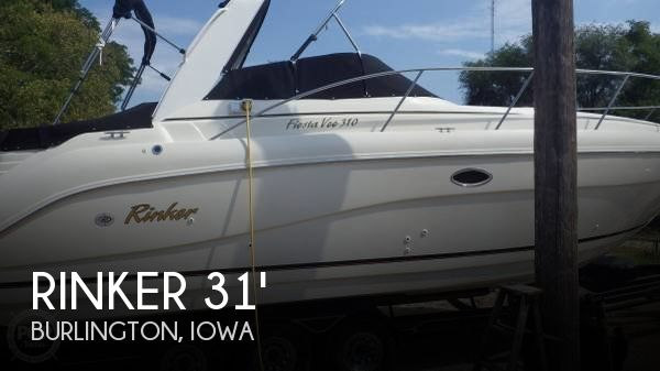 Used Boats For Sale in Davenport, Iowa by owner | 2001 Rinker 31