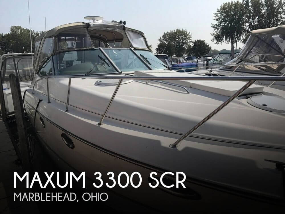 Used Maxum Boats For Sale by owner | 2001 Maxum 33