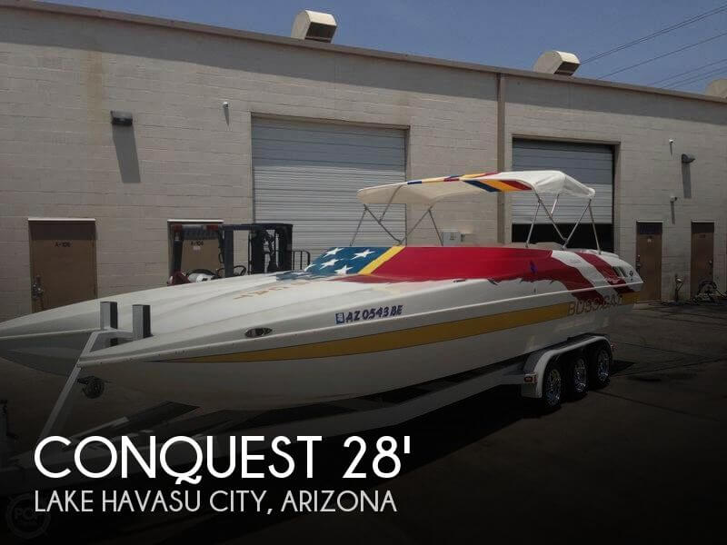 Used Conquest Boats For Sale by owner | 2001 Conquest 28