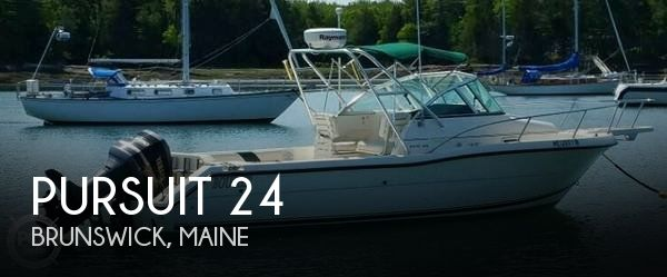 Used Pursuit Boats For Sale by owner | 2000 Pursuit 24