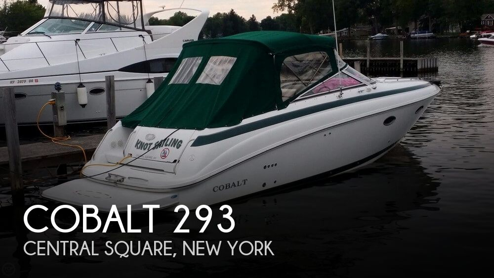 Used Boats For Sale in Utica, New York by owner | 2000 Cobalt 29