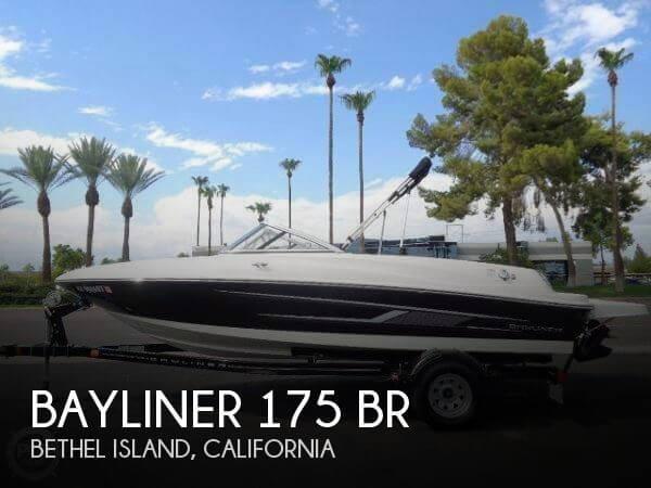 Used Bayliner Ski Boats For Sale in California by owner | 2015 Bayliner 17