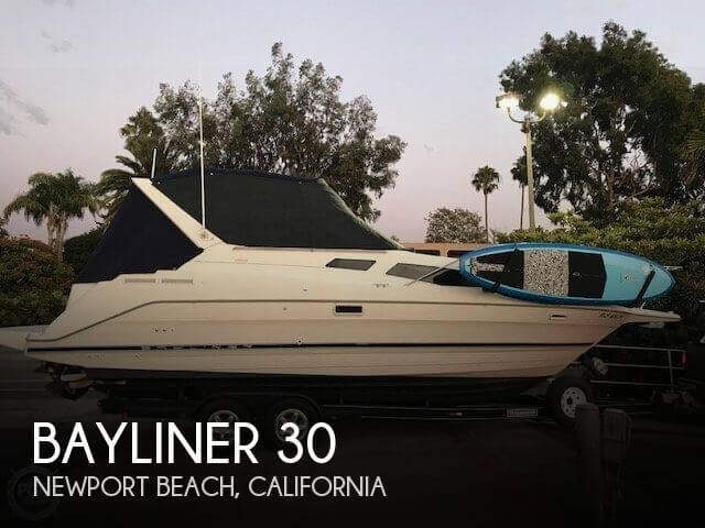 Used Bayliner Boats For Sale in California by owner | 1997 Bayliner 30