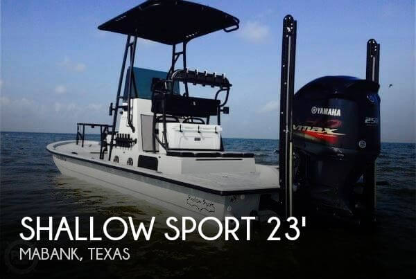 Used Boats For Sale in Tyler, Texas by owner | 2015 Shallow Sport 23