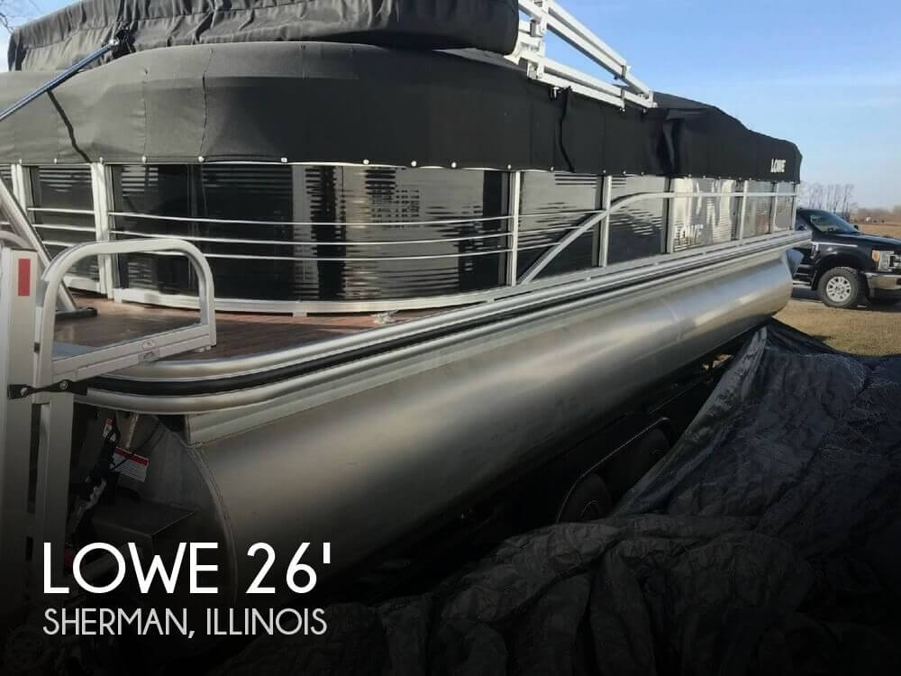 Used Lowe Pontoon Boats For Sale by owner | 2015 Lowe 26