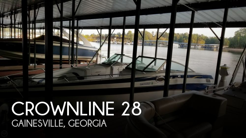 Used Crownline Boats For Sale in Georgia by owner   2001 Crownline 28