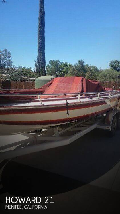 Used Howard Boats For Sale by owner | 1984 Howard 21