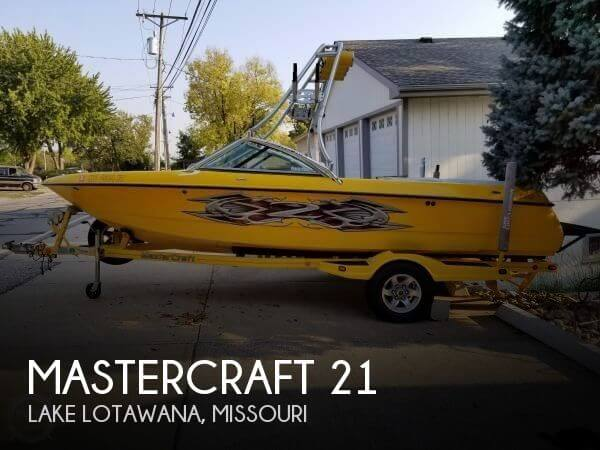 Used Boats For Sale in Kansas City, Missouri by owner | 2004 Mastercraft 21