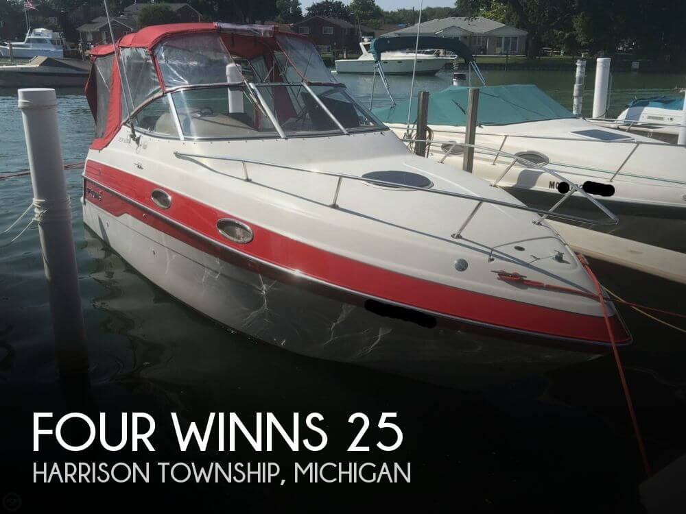 Used Four Winns Boats For Sale in Michigan by owner | 1996 Four Winns 25