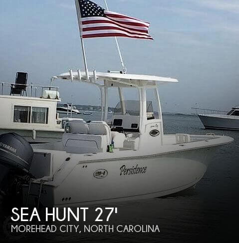 Used Power boats For Sale in North Carolina by owner | 2014 Sea Hunt 27