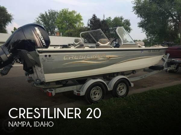 Used Crestliner Boats For Sale by owner | 2005 Crestliner 20