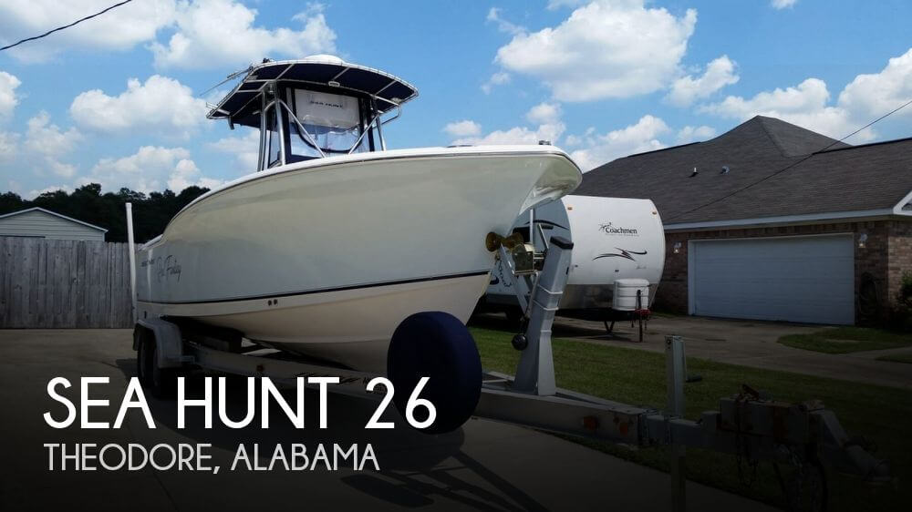 Used Boats For Sale in Mobile, Alabama by owner | 2007 Sea Hunt 26