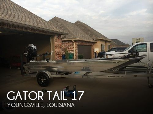 Used Gator Tail Boats For Sale by owner | 2017 Gator Tail 17