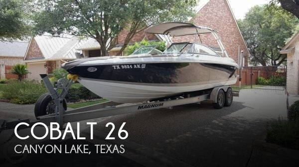 Used Boats For Sale in San Antonio, Texas by owner | 2007 Cobalt 26