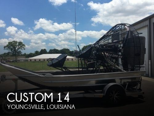 Used Boats For Sale in Lafayette, Louisiana by owner | 2017 Custom 14