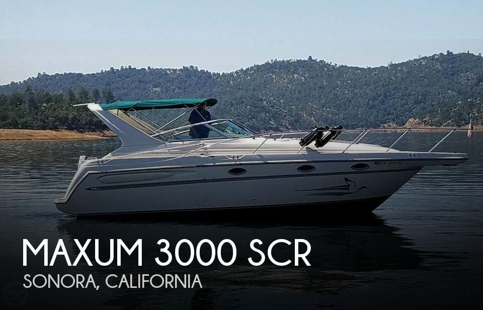 Used Boats For Sale in Merced, California by owner | 1997 Maxum 32