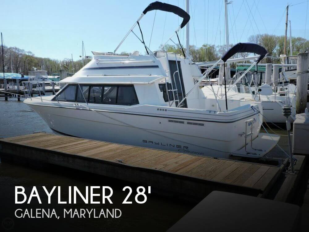 Used Motoryachts For Sale in Maryland by owner | 1995 Bayliner 27