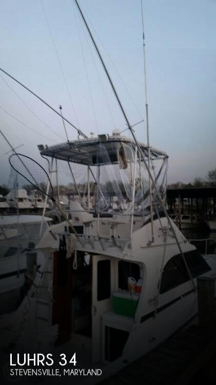 Used Fishing boats For Sale in Maryland by owner | 1989 Luhrs 34
