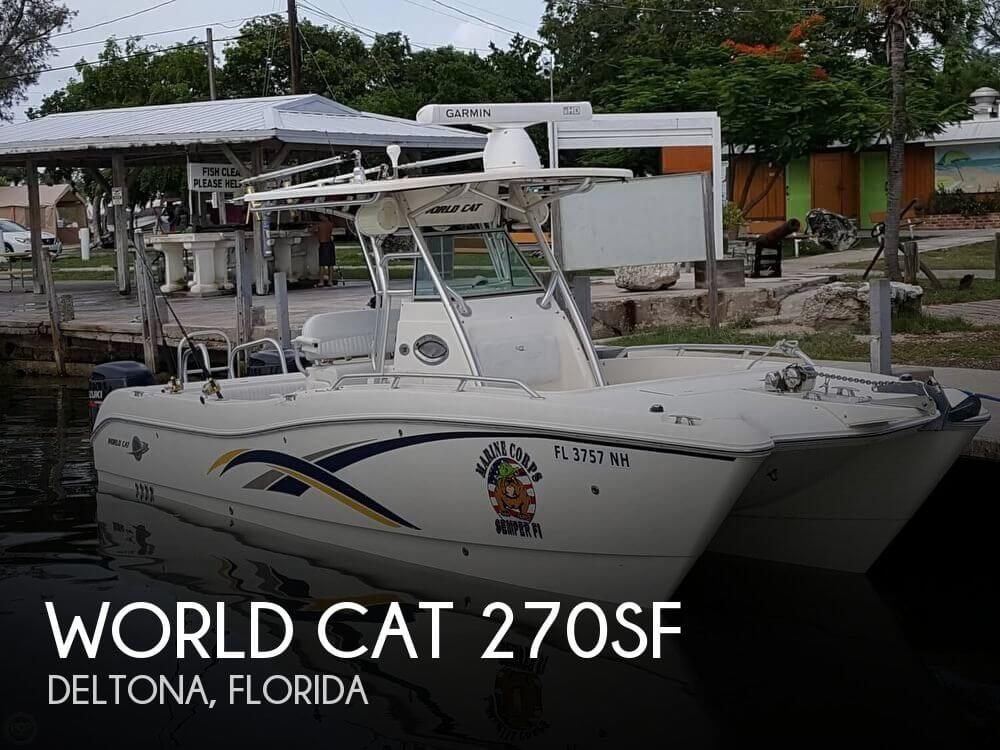 Used Boats For Sale in Ocala, Florida by owner | 2006 World Cat 26