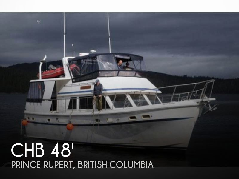1984 CHB boat for sale, model of the boat is 48 Trawler Motoryacht & Image # 1 of 40