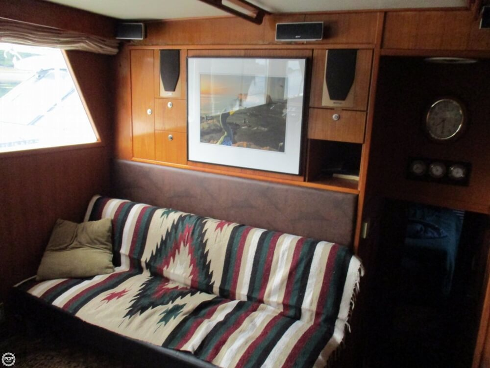 1984 CHB boat for sale, model of the boat is 48 Trawler Motoryacht & Image # 13 of 40