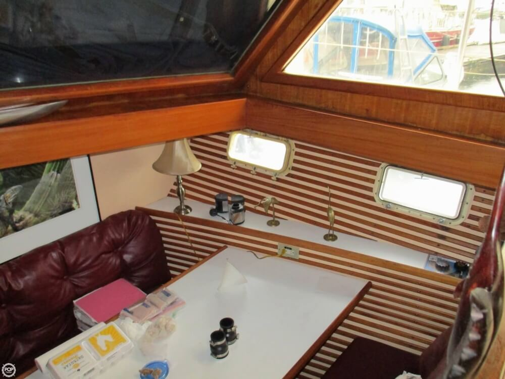 1984 CHB boat for sale, model of the boat is 48 Trawler Motoryacht & Image # 12 of 40