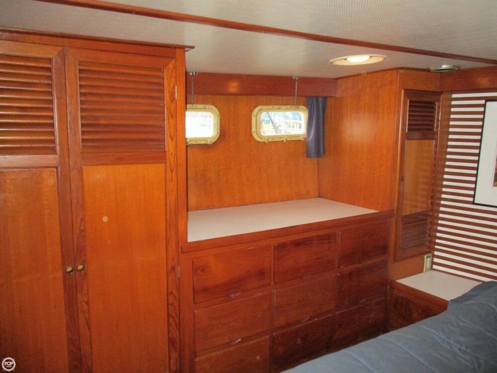 1984 CHB boat for sale, model of the boat is 48 Trawler Motoryacht & Image # 20 of 40