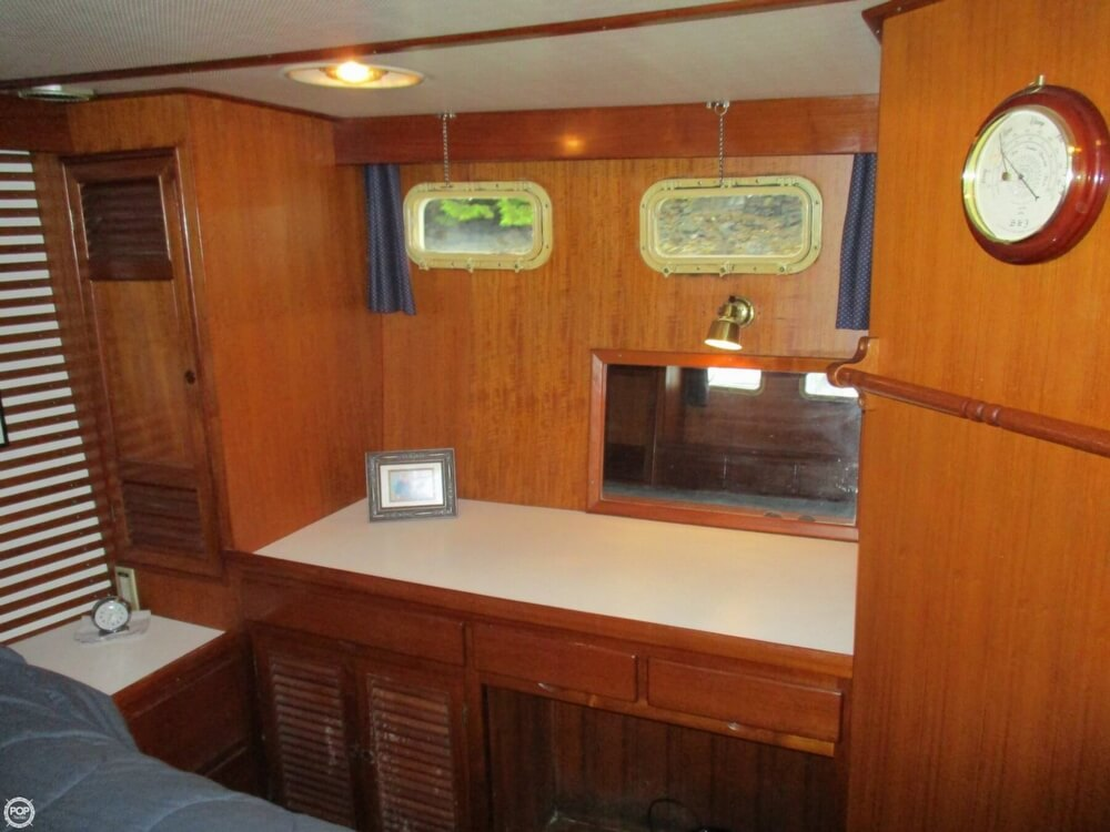 1984 CHB boat for sale, model of the boat is 48 Trawler Motoryacht & Image # 21 of 40