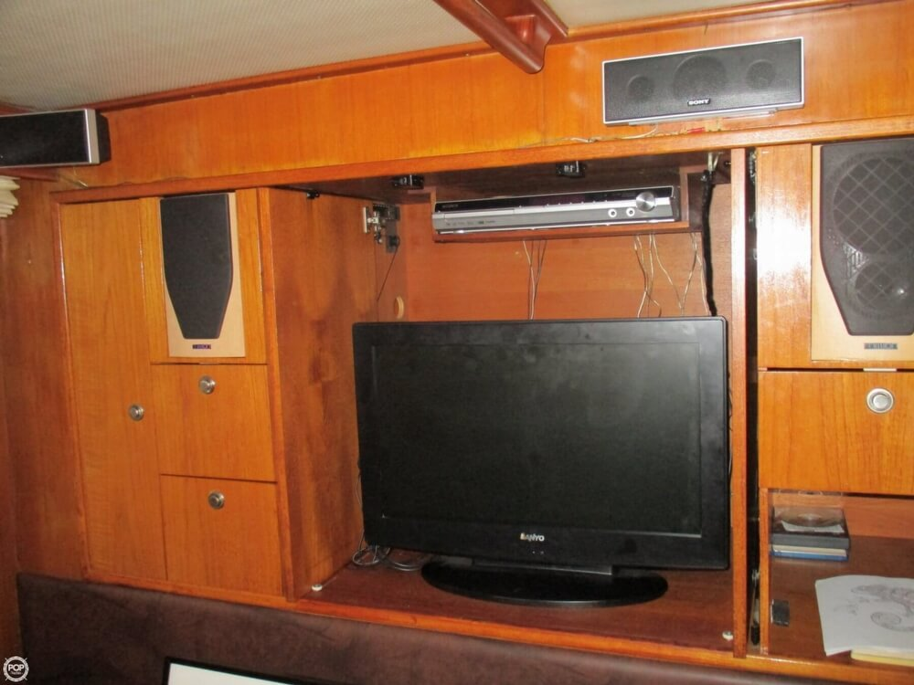 1984 CHB boat for sale, model of the boat is 48 Trawler Motoryacht & Image # 24 of 40