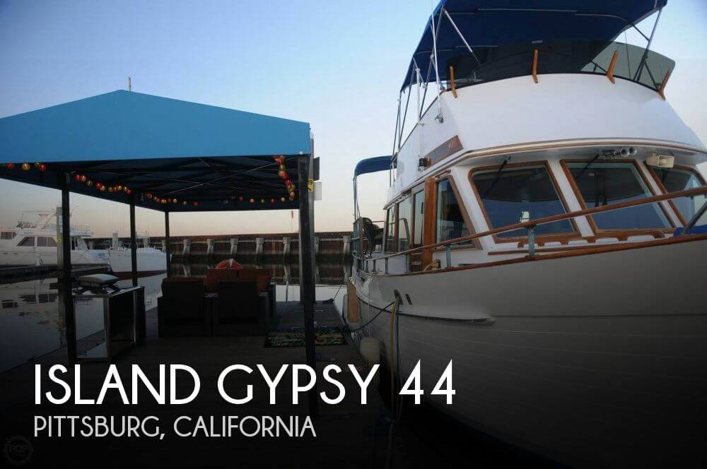 Used Boats For Sale in Vallejo, California by owner | 1979 Island Gypsy 44
