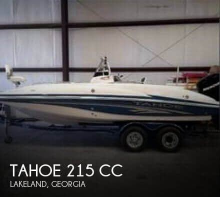 Used Deck Boats For Sale by owner | 2006 Tahoe 21