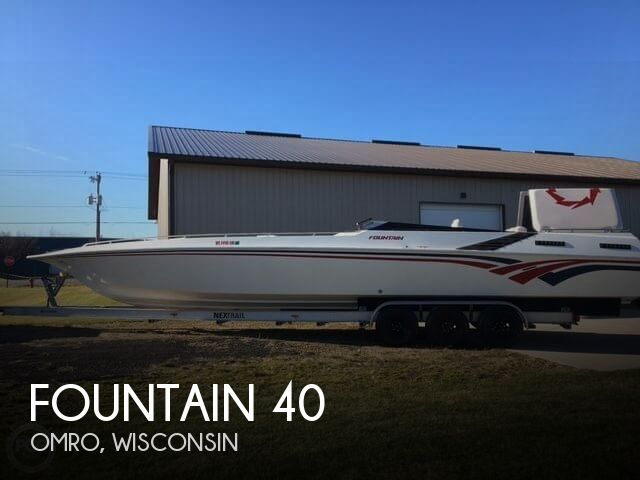 Used Boats For Sale in Wisconsin by owner | 1986 Fountain 40
