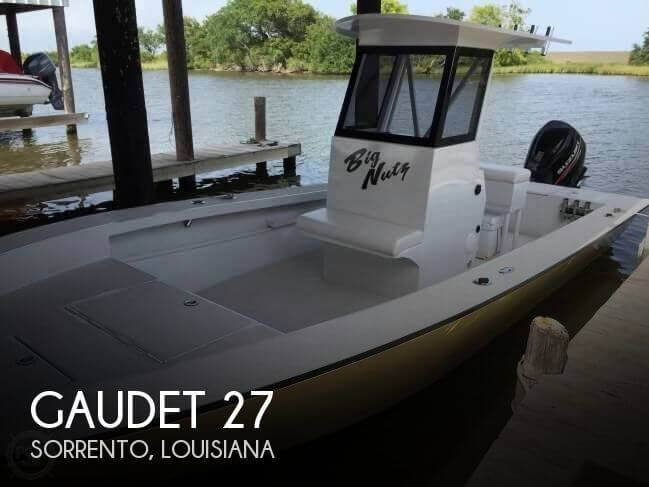 Used Boats For Sale in Baton Rouge, Louisiana by owner | 2015 Gaudet 27